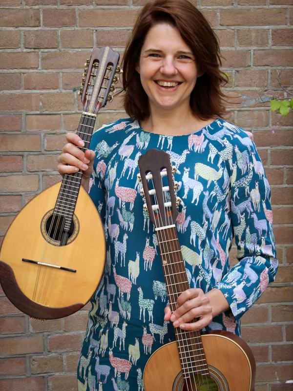 Gitaarles en mandolineles in Rotterdam van Martine Sikkenk